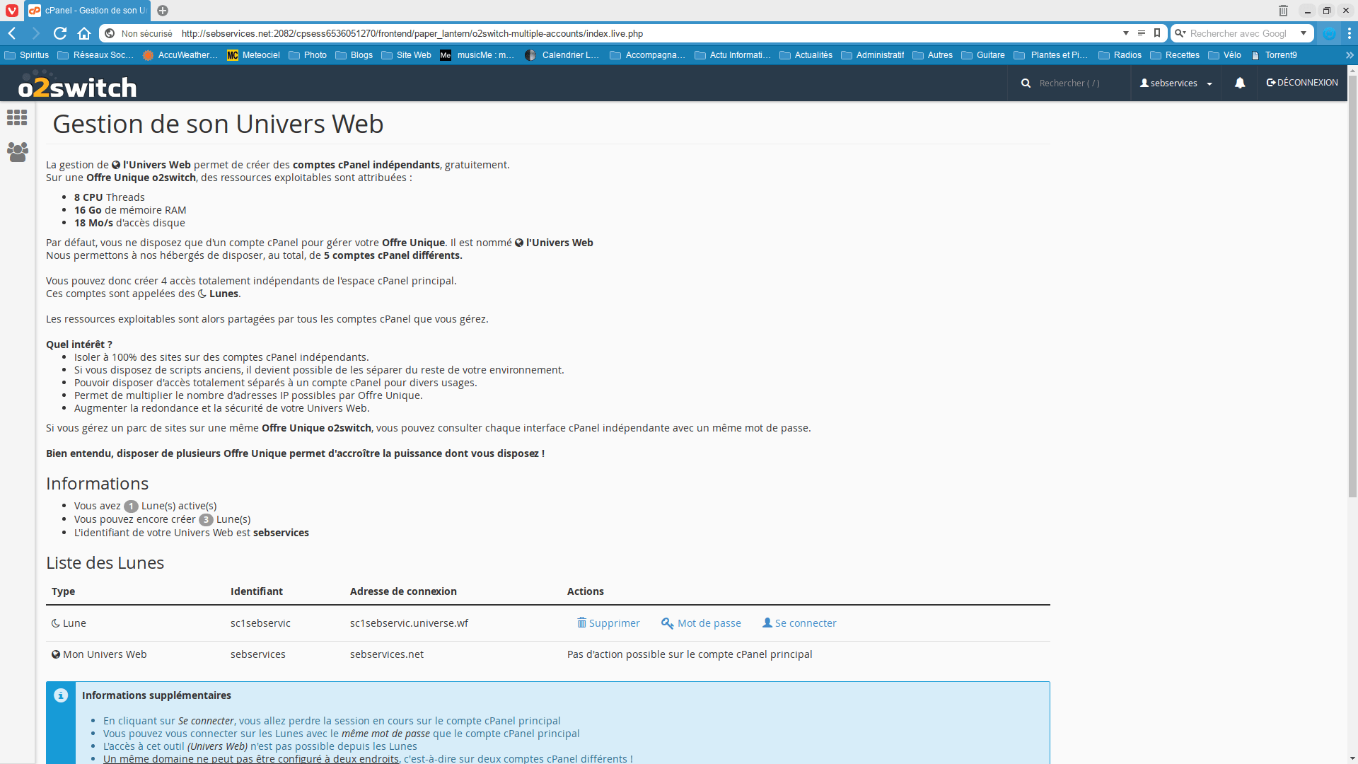 Gestion univers web 1 - Seb Services Informatique Belfort