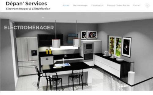 Projet Dépan' Services - Seb Services Informatique Belfort