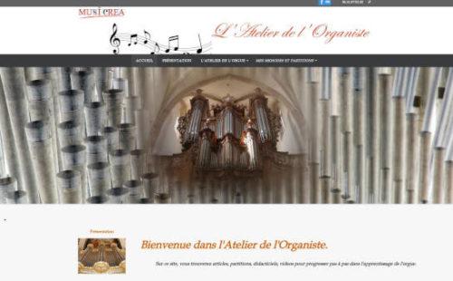Projet Musicréa L'Atelier de l'Organiste - Seb Services Informatique Belfort