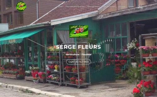 Projet Serge Fleurs - Seb Services Informatique Belfort