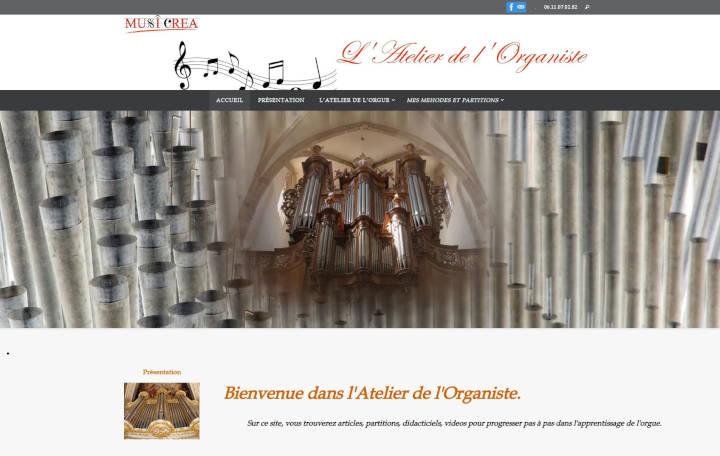 Projet Grand Musicréa L'Atelier de l'Organiste - Seb Services Informatique Belfort