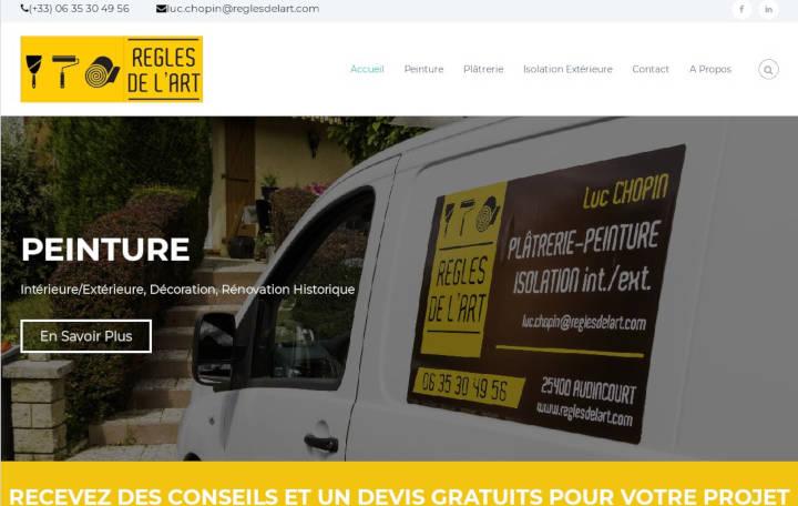 Projet Grand Règles de l'Art - Seb Services Informatique Belfort