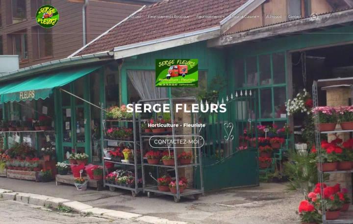 Projet Grand Serge Fleurs - Seb Services Informatique Belfort